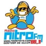 Logo da emissora Rede Nitro 88.3 FM