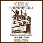 Logo da emissora KFSK 100.9 FM