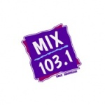 Logo da emissora KMXS 103.1 FM
