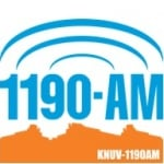 Logo da emissora KNUV 1190 AM