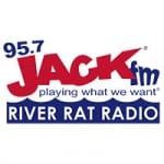 Logo da emissora KPKR 95.7 Jack FM