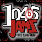 Logo da emissora KGZG 104.5 FM
