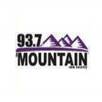 Logo da emissora KDRK 93.7 FM The Mountain