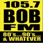 Logo da emissora KRSE 105.7 FM Bob