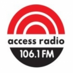 Logo da emissora Wellington Access Radio 106.1 FM