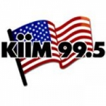Logo da emissora KIIM 99.5 FM