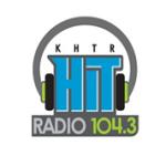 Logo da emissora KHTR 104.3 FM Hit