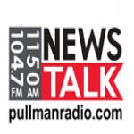 Logo da emissora KQQQ 1150 AM News Talk