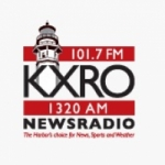 Logo da emissora KXRO 1320 AM Newsradio