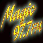 Logo da emissora WGMT  97.7 FM Magic