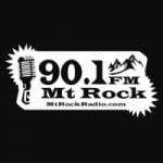 Logo da emissora KSAK 90.1 FM Mt Rock