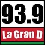 Logo da emissora KBBU 93.9 FM La Gran D