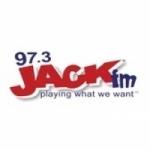 Logo da emissora Radio KRJK 97.3 FM
