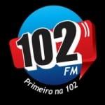 Logo da emissora Rádio 102 FM 102.9