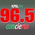 Logo da emissora Radio KPSL 96.5 FM