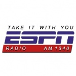 Logo da emissora KATA 1340 AM ESPN