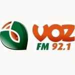 Logo da emissora Rádio Voz 92.1 FM