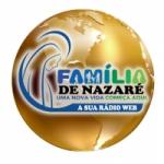 Logo da emissora Rádio Web Família de Nazaré