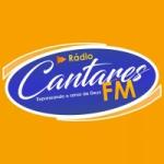 Logo da emissora Rádio Cantares FM