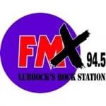 Logo da emissora KFMX 94.5 FM