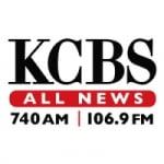 Logo da emissora Radio KCBS 740 AM 106.9 FM