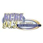 Logo da emissora KCRE 94.3 FM