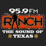 Logo da emissora KFWR 95.9 FM