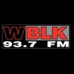 Logo da emissora WBLK 93.7 FM