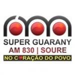 Logo da emissora Super Rádio Guarany 830 AM