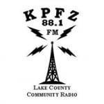 Logo da emissora KPFZ 88.1 FM