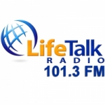 Logo da emissora Radio KRGR-LP Lifetalk 101.3 FM
