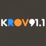 Logo da emissora Radio KROV 91.1 FM