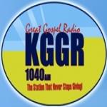 Logo da emissora KGGR 1040 AM