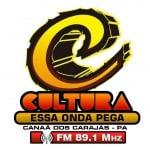 Logo da emissora Rádio Cultura 89.1 FM
