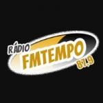 Logo da emissora Rádio Tempo 87.9 FM