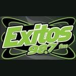 Logo da emissora KXTS 98.7 FM Exitos