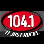 Logo da emissora KFRR 104.1 FM New Rock