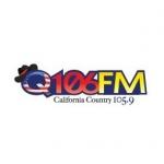 Logo da emissora KQPM 105.9 FM Q