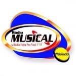 Logo da emissora Rádio Musical FM