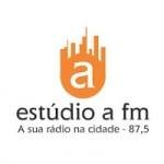 Logo da emissora Rádio Estúdio A 87.5 FM