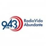 Logo da emissora Radio KJVA-LP Vida Abundante 94.3 FM