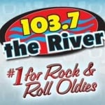 Logo da emissora KODS 103.7 FM The River