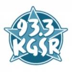 Logo da emissora Radio KGSR 93.3 FM