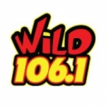 Logo da emissora Radio KWWV 106.1 FM