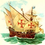 Logo da emissora Caravela de Além-Mar