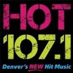 Logo da emissora Radio KFCO Hot 107.1 FM
