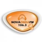 Logo da emissora Rádio Nova Onda 106.3 FM