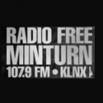 Logo da emissora Radio KLNX 107.9 FM