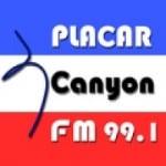 Logo da emissora Rádio Placar 99.1 FM