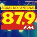 Logo da emissora Rádio Águas do Pantanal 87.9 FM